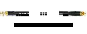 Klinke 3p. 3,5 mm - Cinch