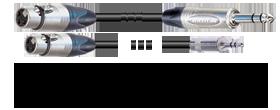 XLR-female - Klinke 3p.